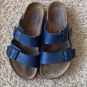 Blue Arizona Birkenstocks Size 40
